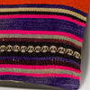 Striped Multi Color Kilim Pillow Cover 16x16 3209 - kilimpillowstore
