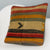 Striped Multi Color Kilim Pillow Cover 16x16 3238 - kilimpillowstore