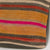 Striped Multi Color Kilim Pillow Cover 16x16 3253 - kilimpillowstore