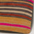 Striped Multi Color Kilim Pillow Cover 16x16 3256 - kilimpillowstore