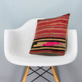 Striped Multi Color Kilim Pillow Cover 16x16 3839
