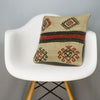 Tribal Beige Kilim Pillow Cover 16x16 3176 - kilimpillowstore