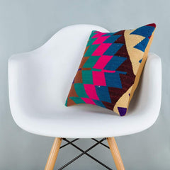 Chevron_Multiple Color_Kilim Pillow Cover_16x16_A0229_6636