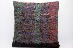 CLEARANCE 16x16 Hand Woven wool tribal ethnic dotted  Kilim Pillow cushion 1344_A - kilimpillowstore  - 1