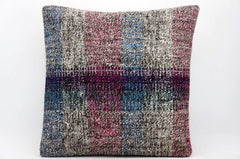 CLEARANCE 16x16 Hand Woven wool tribal ethnic dotted  Kilim Pillow cushion 1359_A - kilimpillowstore  - 1