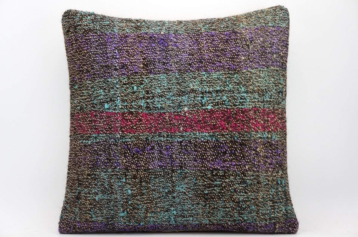 16x16 Hand Woven wool tribal ethnic dotted Kilim Pillow cushion 1362_A