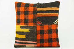 Ethnic  Kilim  pillow cover orange  2262 - kilimpillowstore  - 1