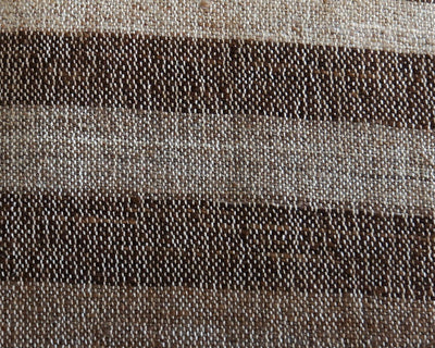 CLEARANCE Striped Brown pillow cover  141 - kilimpillowstore  - 3