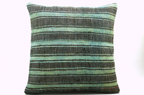 CLEARANCE Green pillow cover 16''  375 - kilimpillowstore  - 1
