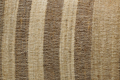CLEARANCE 12x24 Vintage Hand Woven Kilim Pillow Lumbar 740 beige brown ivory cream striped - kilimpillowstore  - 3