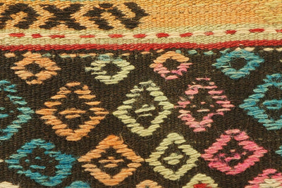 CLEARANCE 16x16 Hand Woven wool tribal ethnic patchwork  Kilim Pillow cushion 986 - kilimpillowstore  - 2