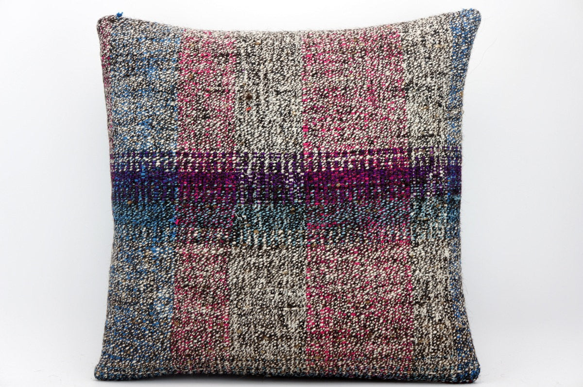 CLEARANCE 16x16 Hand Woven wool tribal ethnic dotted Kilim Pillow cushion 1348_A
