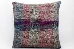 CLEARANCE 16x16 Hand Woven wool tribal ethnic dotted  Kilim Pillow cushion 1348_A - kilimpillowstore  - 1