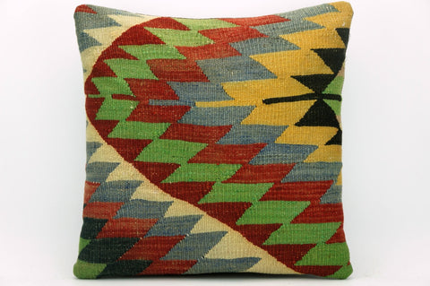 Geometric chevron  pillow , Bohemian pillow cover   1396 - kilimpillowstore  - 1
