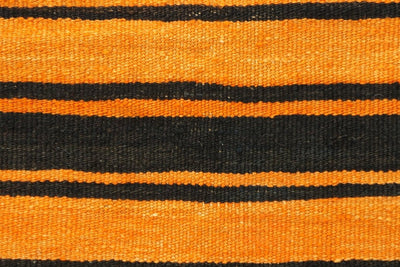 CLEARANCE Orange pillow cover striped , Kilim pillow orange , 16x16 pillow   1428 - kilimpillowstore  - 2