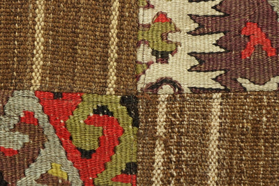 CLEARANCE Patchwork pillow cover made from old kilims  1448 - kilimpillowstore  - 2