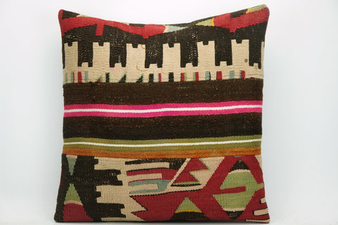 CLEARANCE Tribal Kilim pillow ,  patchwork pillow  1472 - kilimpillowstore  - 1