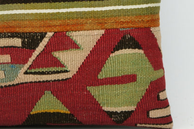 CLEARANCE Tribal Kilim pillow ,  patchwork pillow  1472 - kilimpillowstore  - 4