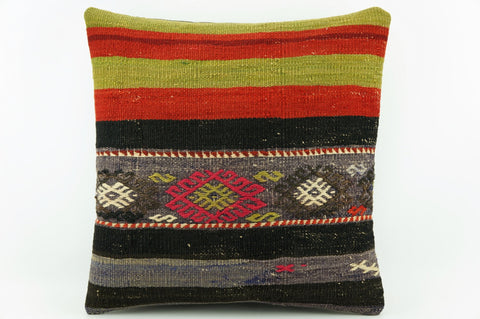 Kilim pillow cover green red    1920 - kilimpillowstore  - 1