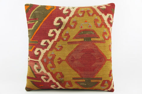 Ethnic decorative pillow cover , Modern home decor , Bohemian pillow case  1947 - kilimpillowstore  - 1