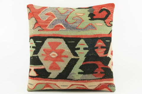 "Mid century modern  pillow cover  from kilims  16""    2059 - kilimpillowstore  - 1"