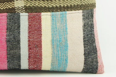 Modern Kilim  pillow cover,  ethnic  pillow , Decorative pillow case   2137 - kilimpillowstore  - 4
