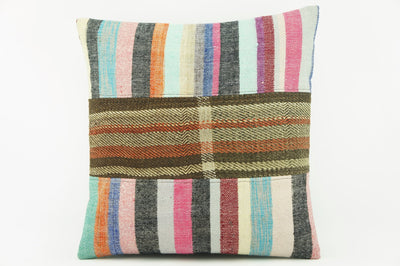 Modern Kilim  pillow cover,  ethnic  pillow , Decorative pillow case   2137 - kilimpillowstore  - 1