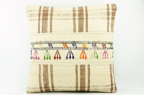 Oriantel  Kilim  pillow cushion 16,  throw  cushion, ethnic decor,  Mediterranean  decor,  2179 - kilimpillowstore  - 1