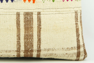 Oriantel  Kilim  pillow cushion 16,  throw  cushion, ethnic decor,  Mediterranean  decor,  2179 - kilimpillowstore  - 4