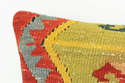 Kilim  pillow case 16,  throw  cushion, Ethnic pillow, Euro sham, Bohemian pillow   2231 - kilimpillowstore  - 3