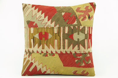 Kilim  pillow case 16,  throw  cushion, Ethnic pillow, Euro sham, Bohemian pillow   2233 - kilimpillowstore  - 1
