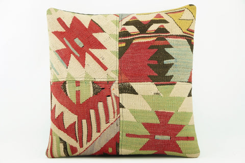 Geometric  Kilim  pillow cover   2264 - kilimpillowstore  - 1
