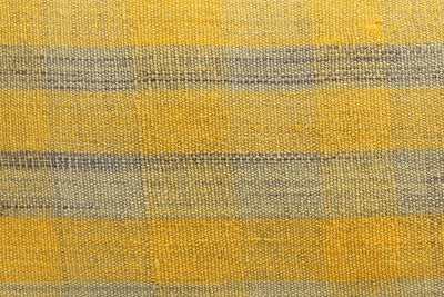 12x24 Vintage Hand Woven Kilim Pillow Lumbar Bohemian pillow case, Modern home decor Yellow beige  striped 980 - kilimpillowstore  - 3