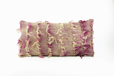 12x24 Purple Fuschia Kilim pillow case  throw cushion, ethnic decor, Mediterranean decor, 1692 - kilimpillowstore  - 1