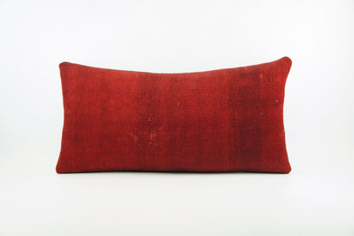 CLEARANCE  12x24   pillow cover , Decorative kilim pillow,  kilim pillow   red  1833 - kilimpillowstore  - 1