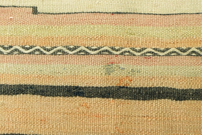 CLEARANCE  12x24  Striped pillow cover , Decorative kilim pillow,   kilim pillow   beige pink 1776 - kilimpillowstore  - 3