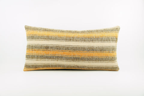 12x24 Ethnic decorative pillow cover , Bohemian pillow case, Modern home decor Striped Soft colors handwoven pillow ,1861 - kilimpillowstore  - 1