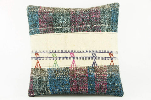 Kilim  pillow cover, old  pillow, ethnic  pillow , Outdoor pillow   2134 - kilimpillowstore  - 1