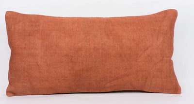 Plain Brown Kilim Pillow Cover 12x24 4178 - kilimpillowstore  - 2