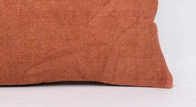 Plain Brown Kilim Pillow Cover 12x24 4178 - kilimpillowstore  - 3