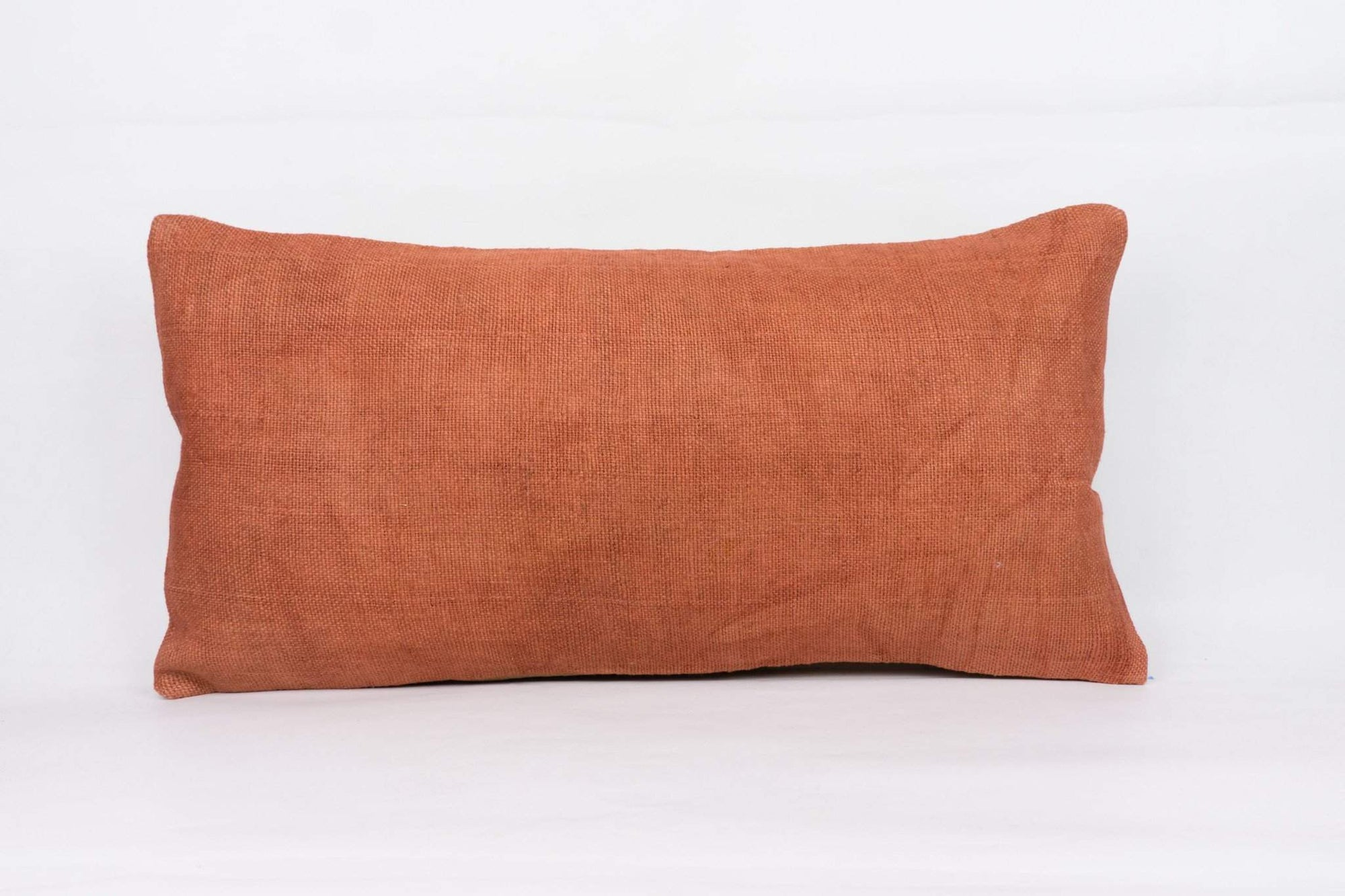 Plain Brown Kilim Pillow Cover 12x24 4178 - kilimpillowstore  - 1