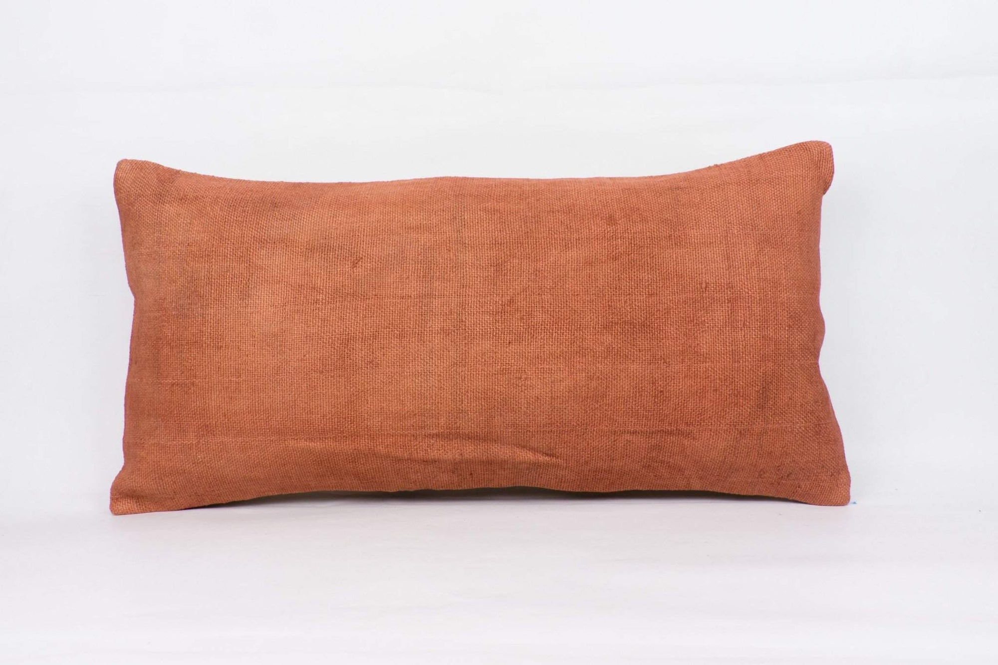 Plain Brown Kilim Pillow Cover 12x24 4197 - kilimpillowstore  - 1