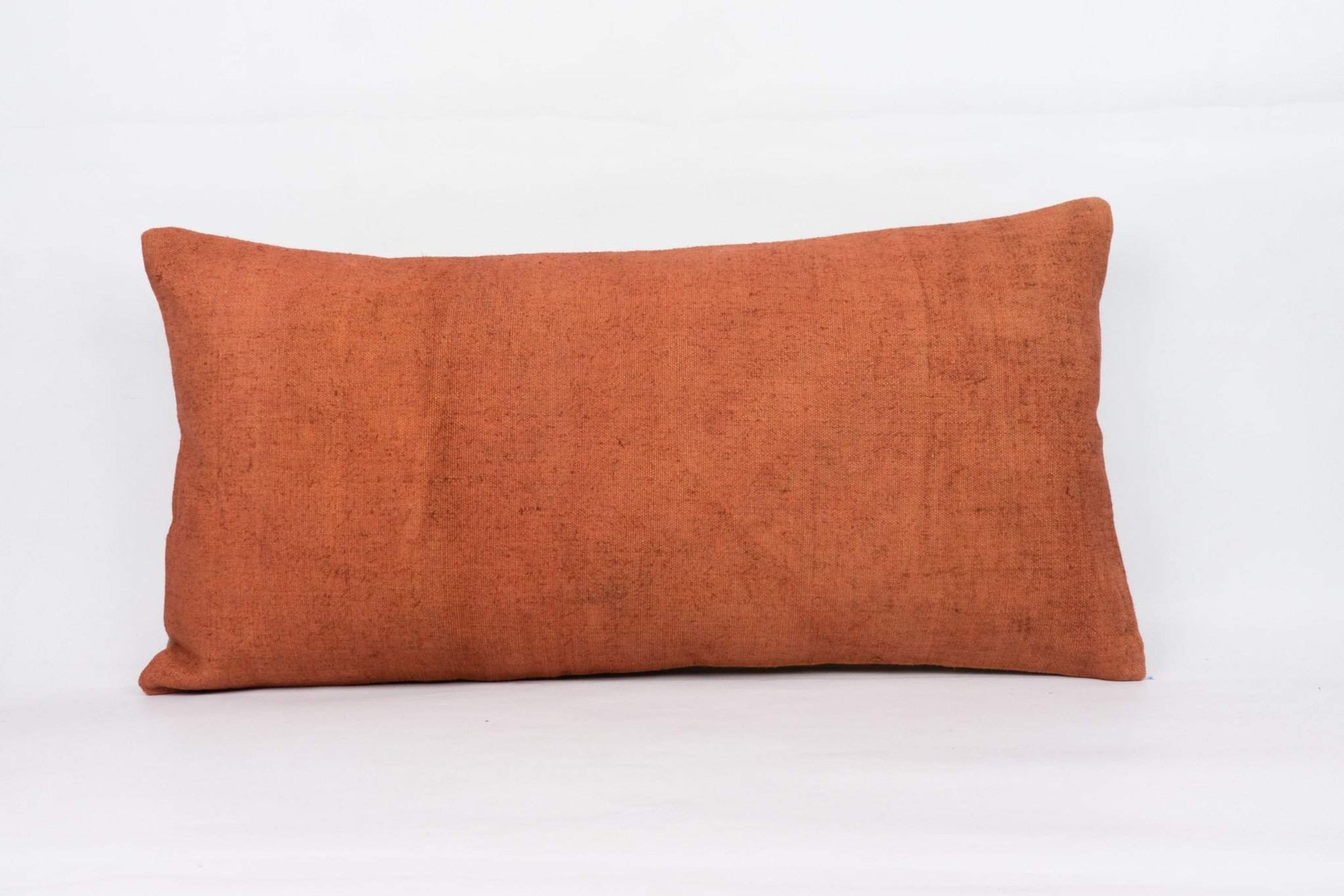 Plain Brown Kilim Pillow Cover 12x24 4204 - kilimpillowstore  - 1