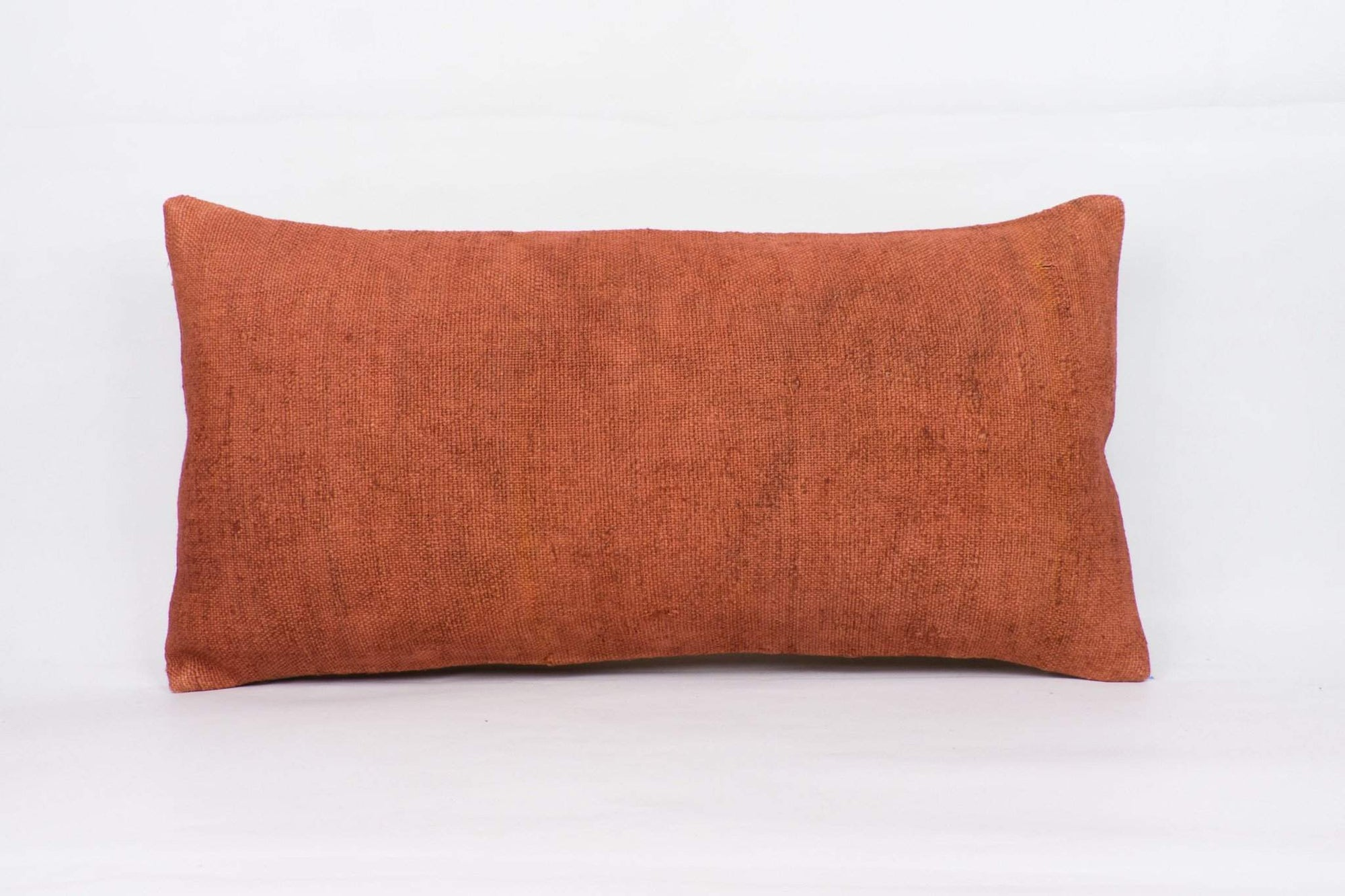 Plain Brown Kilim Pillow Cover 12x24 4206 - kilimpillowstore  - 1
