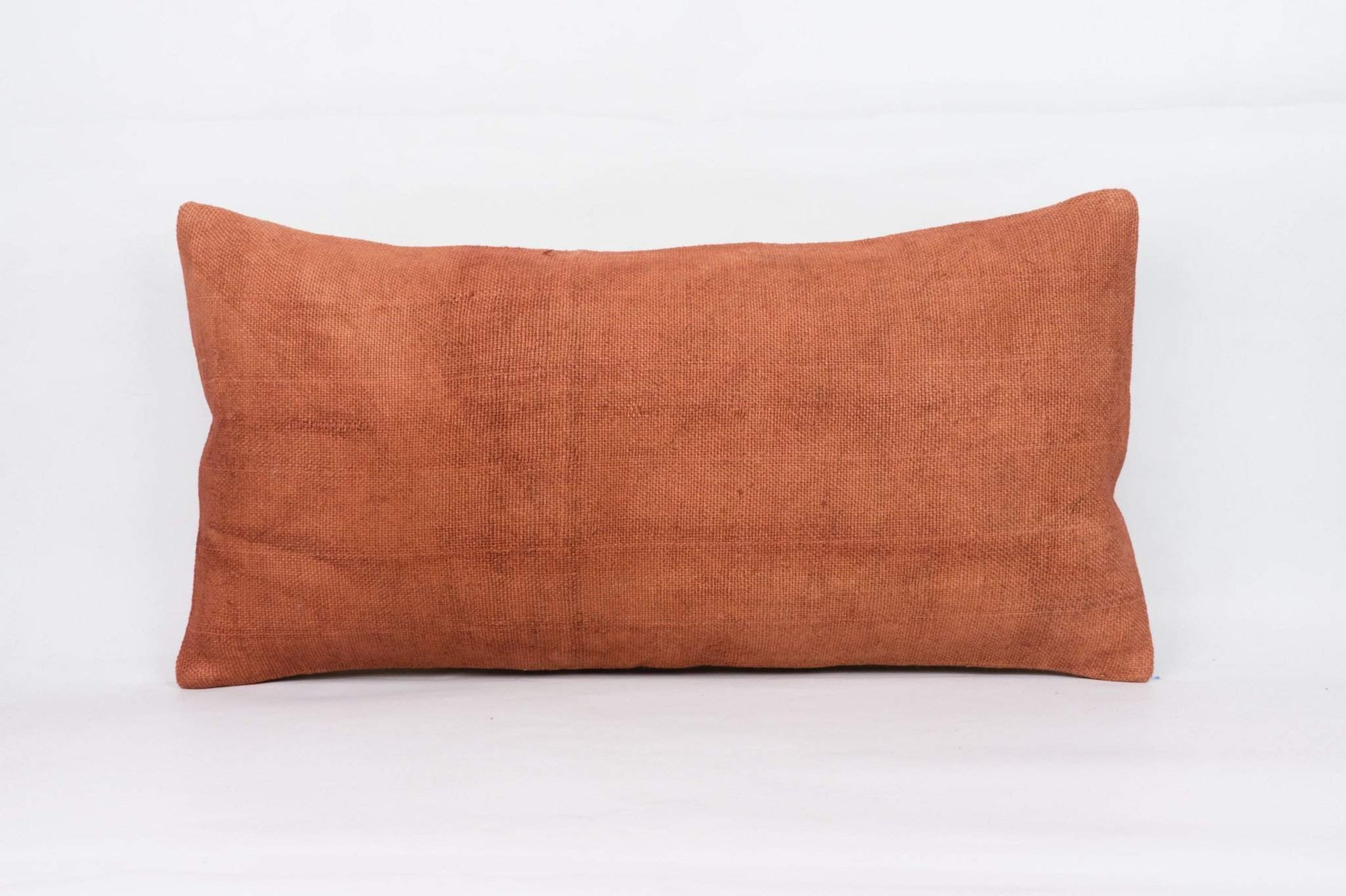 Plain Brown Kilim Pillow Cover 12x24 4208 - kilimpillowstore  - 1
