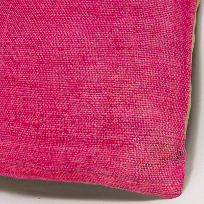 Plain Pink Kilim Pillow Cover 16x16 2997 - kilimpillowstore