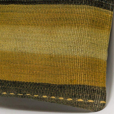 Striped Multi Color Kilim Pillow Cover 16x16 3225 - kilimpillowstore