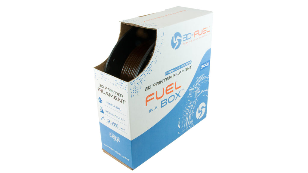 3D-Fuel WOUND UP™ - Coffee PLA Filament - 500 grams