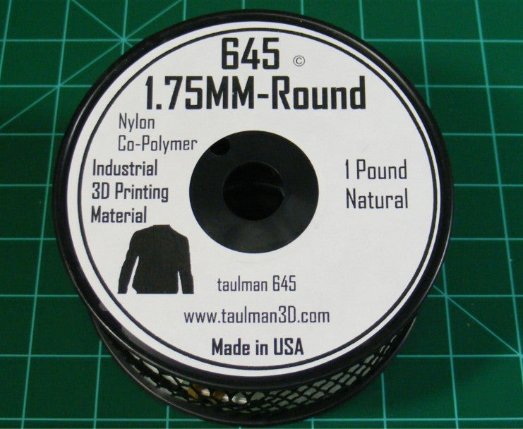 Taulman 3D 645 Nylon Co-Polymer Filament - 1 Lb