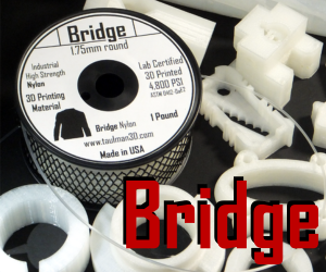 Taulman 3D Bridge Nylon Filament - Natural - 1 Lb